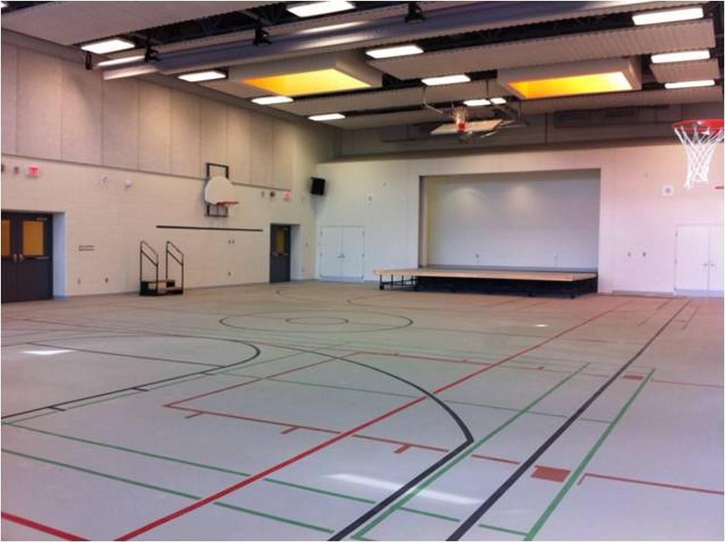 Tdsb jr wilcox newgen construction corporation for 3000 sq ft gym layout
